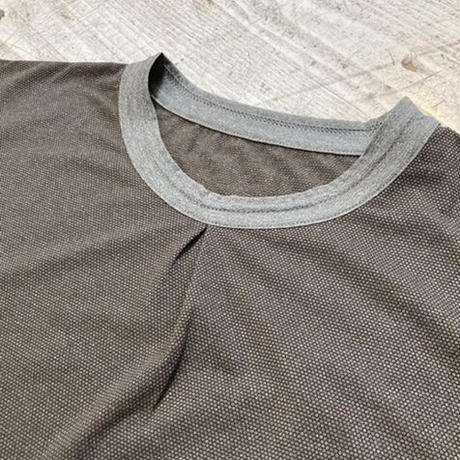 BUDO『Mountain Pass top Short_Sleeve』(Charcoal)
