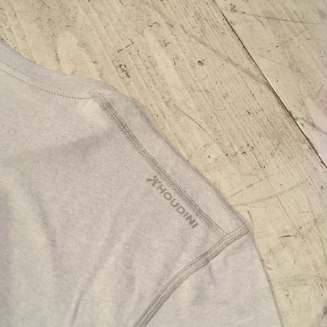 HOUDINI 『Dynamic Tee』(ground grey)