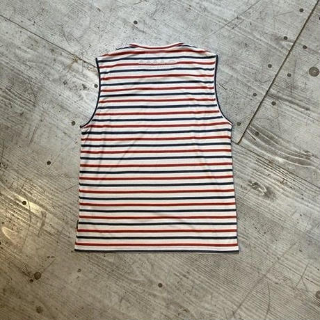 Mountain Martial Arts『Border Sleeveless』(White_ Red_ Navy)