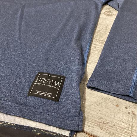 MMA『POLARTEC®︎ Power Wool L/S Tee』(Navy Peony)