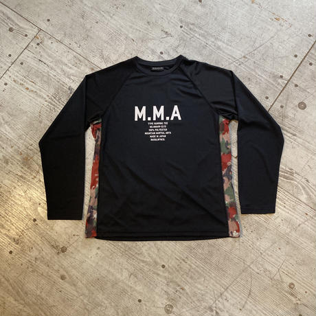 MMA 『Alpen Camo Back Pocket Long Sleeve Tee』 (Black)