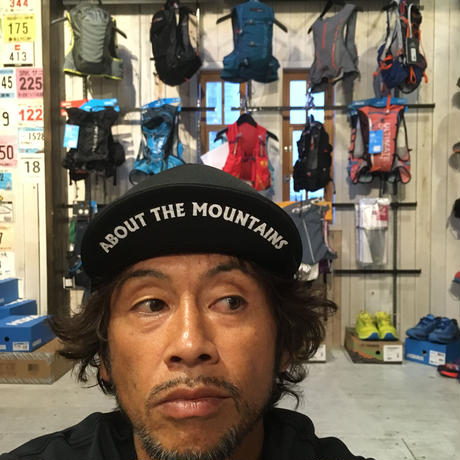 huntstored『TRISH2』FLAT SHORT MESH CAP