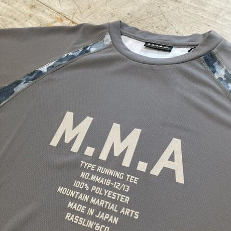 MMA 『Alpen Camo Side Pocket Tee』 (Gray)