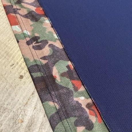 MMA 『Camo Dry Pocket Tee』 (Navy)