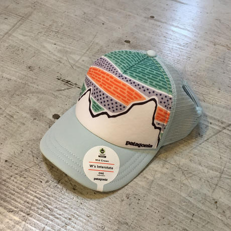 patagonia『Womens Solar Rays 73 Interstate Hat』ATOLL BLUE