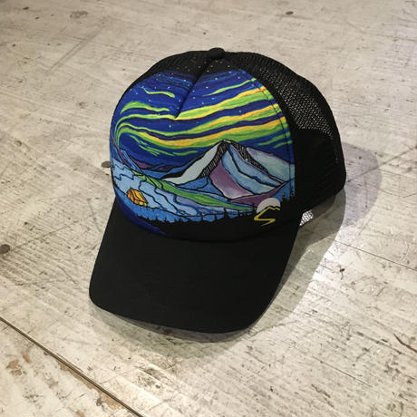 NORTHWEST TRUCKER CAP 『Northern Lights』
