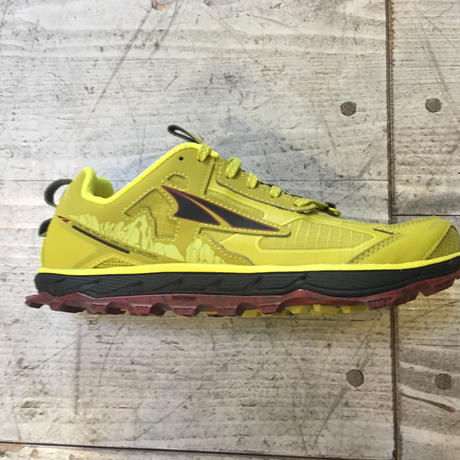 ALTRA『LONE PEAK 4.5 M』(LIME/RED)