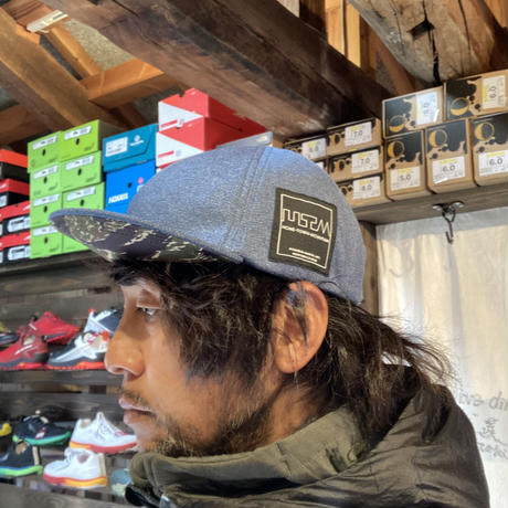 MMA『POLARTEC Power Wool Cap』(Navy Peony)