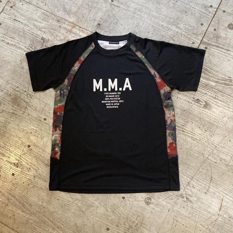 MMA 『Alpen Camo Side Pocket Tee』 (Black)