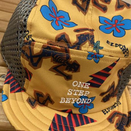 ELDORESO『Pietri Short Brim Cap』(Yellow)