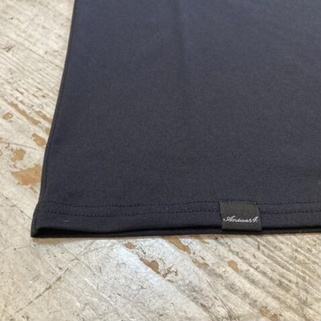 "ANSWER4『""刺繍 ↑"" Tshirt』(Black)"