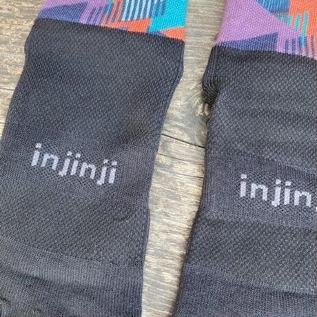 injinji『SPECTRUM TRAIL MIDWEIGHT MINI-CREW』(フェンスSP)