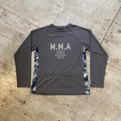MMA 『Alpen Camo Back Pocket Long Sleeve Tee』 (Gray)