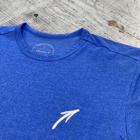 """ANSWER4『""""刺繍 ↑"""" Tshirt』(Blue)"""
