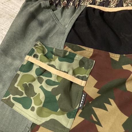 MMA 『7pocket Run Pants Shorty』 (Military Crazy_A)