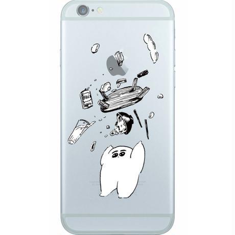 まずい飯 iPhone6 / 6s対応クリアケース