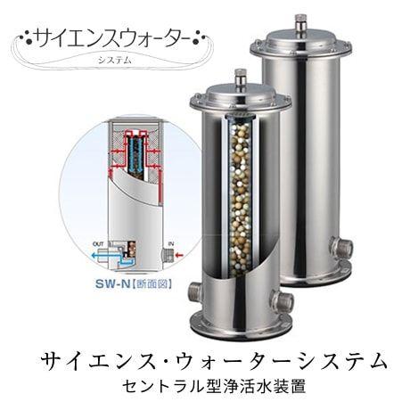 【ミラブルプラスプレゼント!!】サイエンスウォーターシステム セントラル型浄活水器 ※要施工