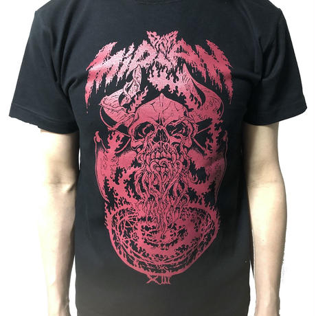 MiDiAN 13th Tシャツ RED