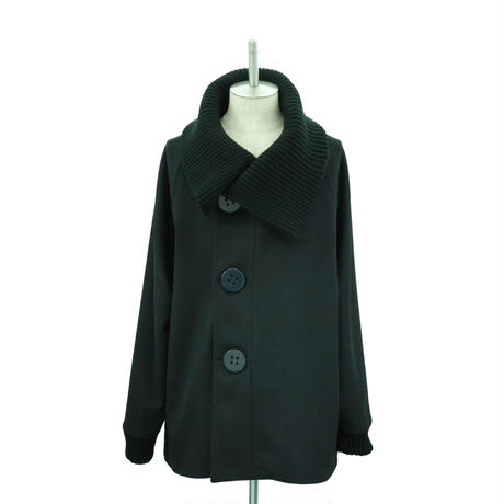 Big Button Rib Coat