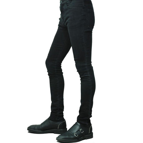 Washed Denim Stretch Skinny