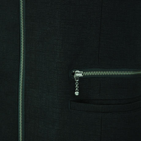 【Last1】Zip Long Blouson
