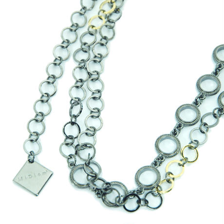 Mix Chain Long Necklace