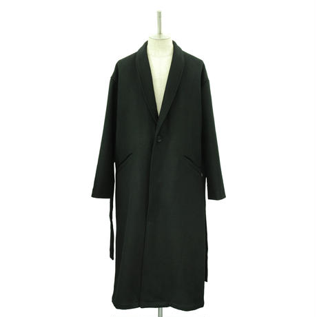 【Last1】Over Sized Shawl Collar Coat