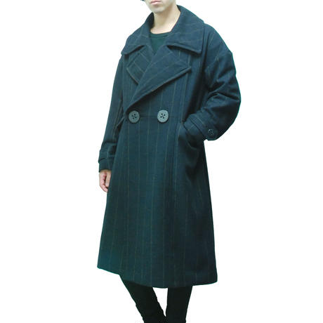 Over Sized Big Button Coat
