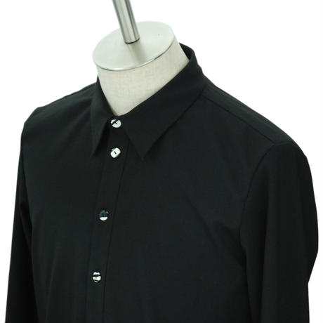 Marble Button Long Shirt