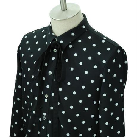 Dot Ribbon Shirt