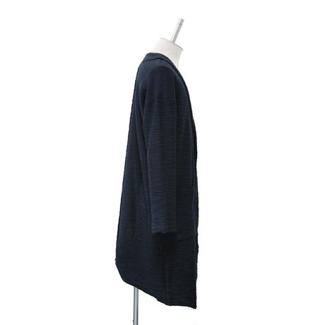 Cutoff Long Cardigan