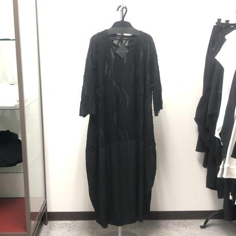 【Sample】異素材切替ロングカットソー