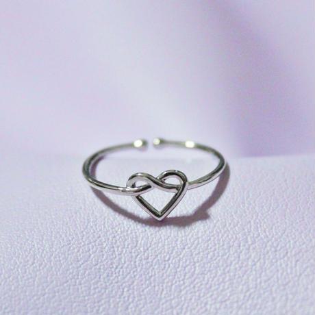 ハートリング(シルバー)/ Heart Ring(Silver)