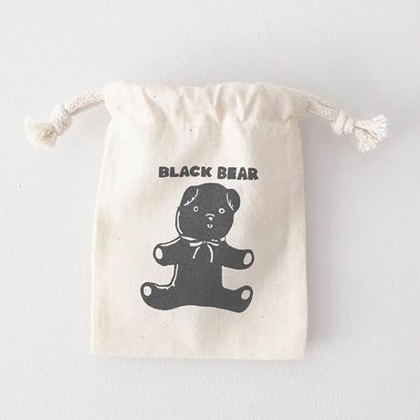 【再入荷】BLACK BEAR / MINI DRAWSTRING BAG