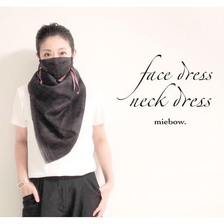 face dress   /check
