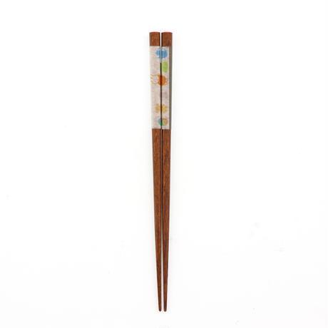 MFK034-02 和紙巻箸わんぱくきっちん21cm