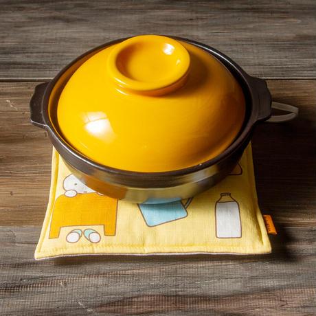 MFK011-01 鍋敷きモーニング柄