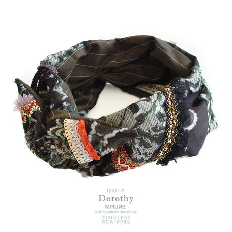 18-19AW MIFUNE / KROFUNE dress turban