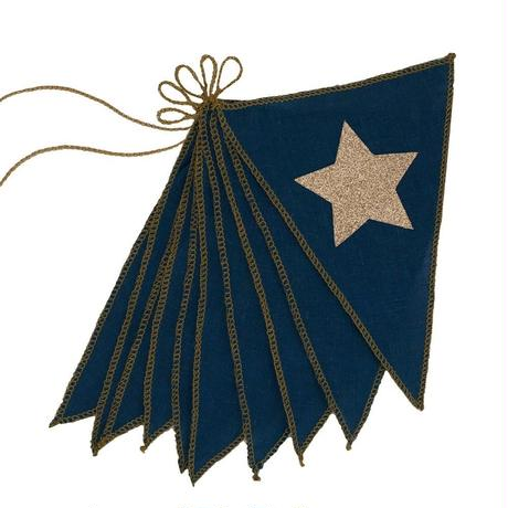 NUMERO74 Garland-star Navy blue