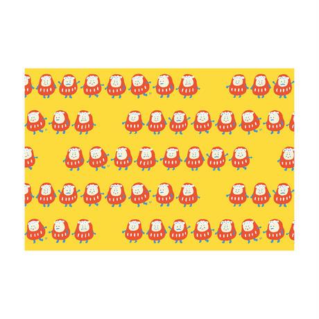ポストカード【神明さんのだるま行列】