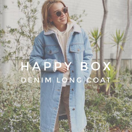 HAPPY BOX(DENIM LONG COAT)