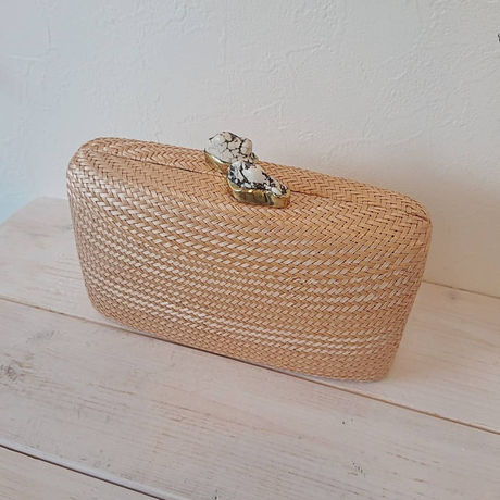 KAYU(カユ)/Bag Jen with White Stone