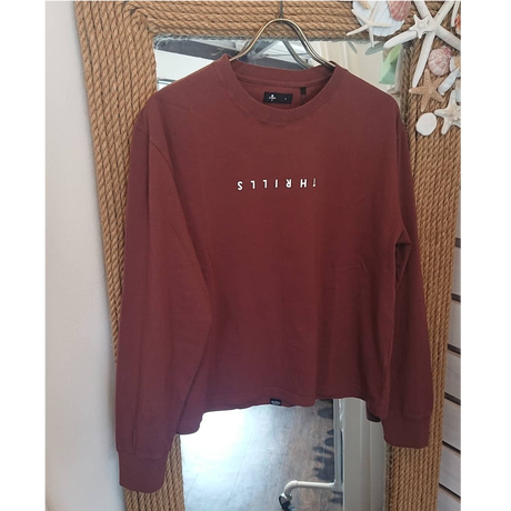 THRILLS(スリルズ)/トップス Minimal Thrills Long Sleeve