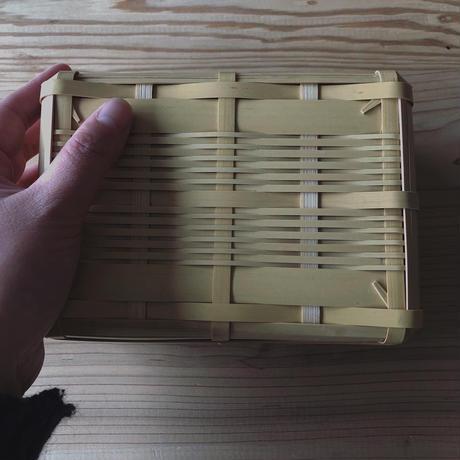 鹿児島県産竹使用サンドイッチ籠