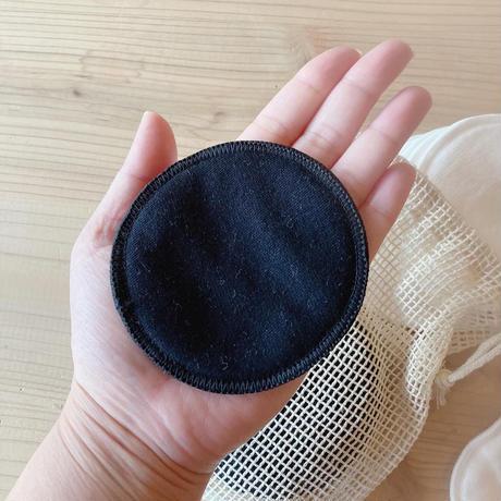 竹繊維パフ(16枚入り・メッシュバッグ付き)