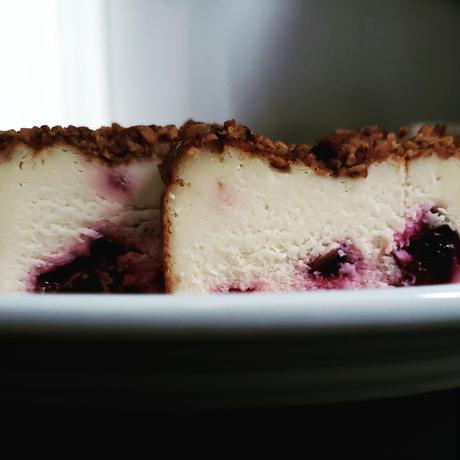 すももベイクドチーズケーキ/ハーフと珈琲エッセンス【1ヶ月以内のお届け】