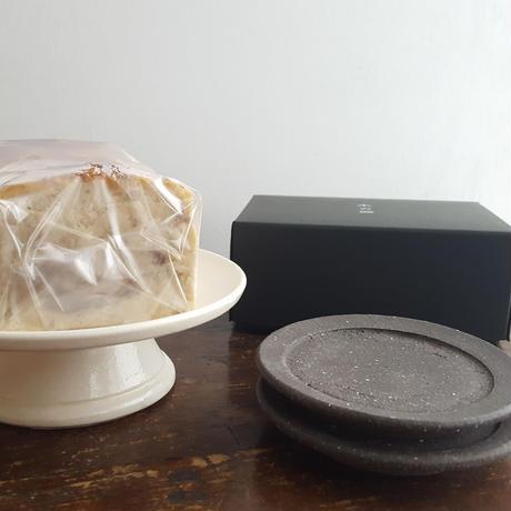 Gift / 皿【12/20発送】※栗チーズケーキ・ハーフ