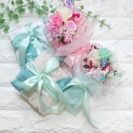 お花いっぱい♡Large(ラージ)キャンディブーケ!バルーン追加できます♪
