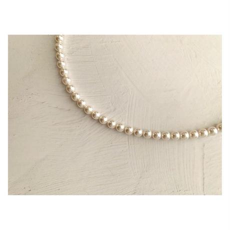 HAKUA  Swarovski 6mm×3mm Y Long  necklace