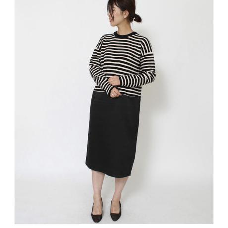 knit×one-piece